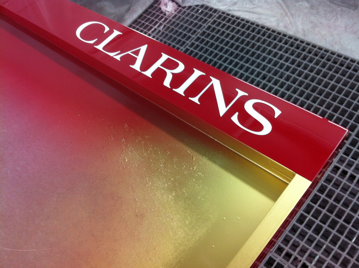 Agencement Clarins