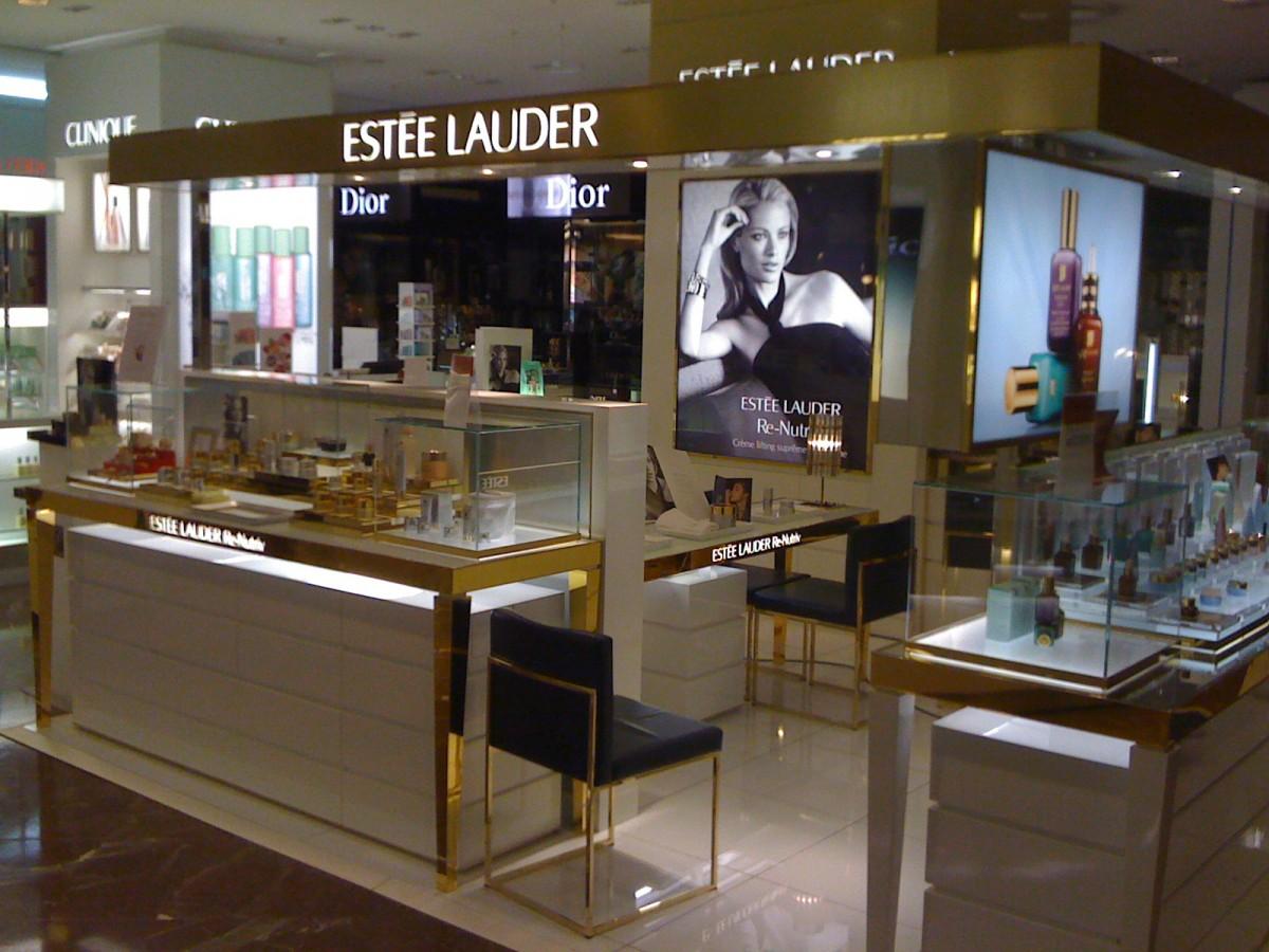Agencement Estee Lauder