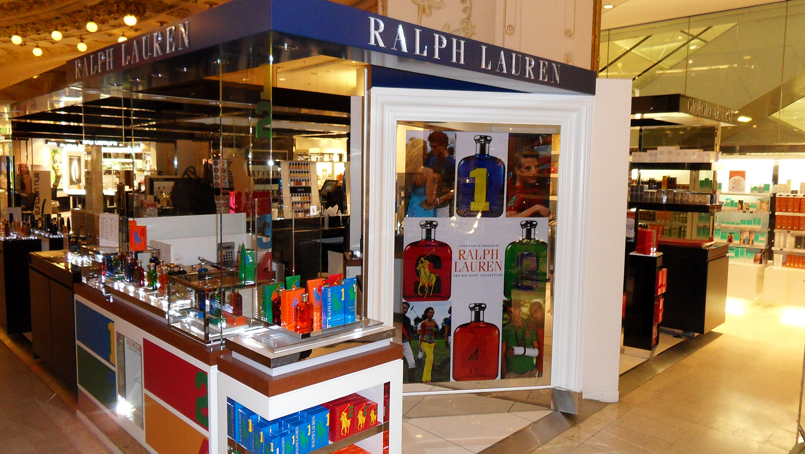 Agencement Ralph Lauren