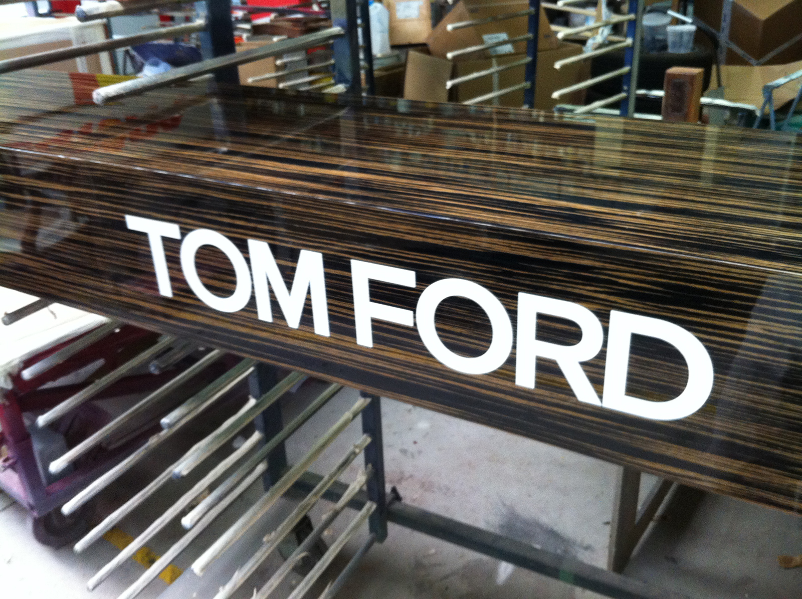 Agencement Tom Ford